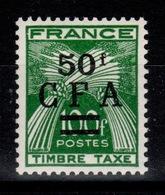 Reunion - Taxe YV 44 N** Gerbes Cote 36,10 Euros - Reunion Island (1852-1975)