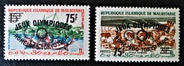 SURCHARGES 1962 - NEUFS ** - YT 154C/54D - Mauritania (1960-...)