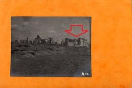 GUERRE A L'EST - RUINES De MIELNICA - Comté De KOVEL - ( MEL'NYTSYA )  RESTES Du VILLAGE  En 1916 ( L'Eglise ??? ) - Weltkrieg 1914-18