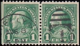 UNITED STATES - Scott #552 Franklin (1) / Used Stamp - Oblitérés