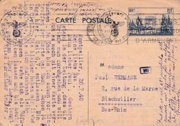 CP D'un Militaire Alsacien 1940 - 1921-1960: Modern Period