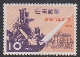 Japan SG772 1957 Centenary Of Iron Industry, Mint Never Hinged - 1926-89 Emperor Hirohito (Showa Era)