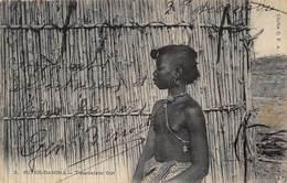 River-Gambia - Toucouleur Girl - Carte Pour La Vendée - Gambie
