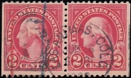 UNITED STATES - Scott #554 Washington (1) / Used Stamp - Vereinigte Staaten