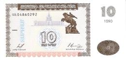 ARMENIE   10 Dram   1993   P. 33   UNC - Arménie