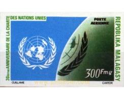 Ref. 193549 * MNH * - MADAGASCAR. 1975. 30th ANNIVERSARY OF THE UNITED NATIONS'  CHARTER . 30 ANIVERSARIO DE LA CARTA DE - Madagascar (1960-...)