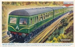 Intercity Diesel British Railways Alan Anderson - Eisenbahnen