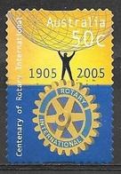 2005 50 Cents Rotary International, Used - 2000-09 Elizabeth II