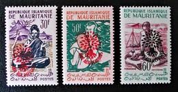 AIDE AUX REFUGIES - SURCHARGES 1962 - NEUFS ** - YT 154H/54K - Mauritanie (1960-...)