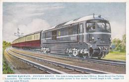 Brown Boveri Gas Turbine Loc British Railways Alan Anderson - Eisenbahnen
