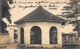 Philippines - Cebu - Carte Photo 1909 - La Première Eglise Construite - Carte Pour La Vendée - Philippines
