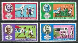 Togo YT N°621/624 Sociétés De La Croix-Rouge Neuf ** - Togo (1960-...)