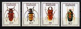 Gabon ** N° 399 à 402 - Coléoptères - Gabon