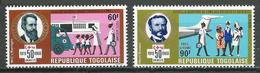 Togo Poste Aérienne YT N°115/116 Sociétés De La Croix-Rouge Neuf ** - Togo (1960-...)