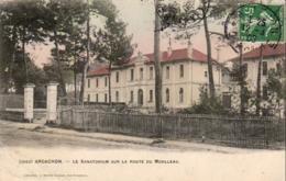 D33  ARCACHON  Le Sanatorium Sur La Route Du Moulleau  ..... - Arcachon