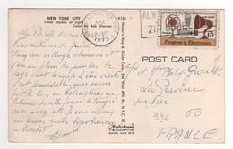 Beau Timbre , Stamp Yvert N° 996 Sur Cp , Carte , Postcard Du 08/10/1973 - Etats-Unis