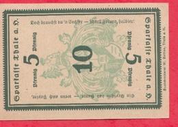 Allemagne 1 Notgeld De 10 Pfenning Stadt Sparkasse état   N °2111 - [ 3] 1918-1933 : République De Weimar