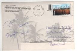 Beau Timbre , Stamp Par Avion à 70 Cents Sur Cp , Carte , Postcard Du 01/03/2004 - Etats-Unis