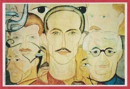 Peinture Du Poète Nazim Hikmet (1902 1963), 1970. - Vieux Papiers
