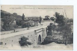 Cpa -   Dpt    - Gard  -   Crespian   Mas De Reille   Et Pont De Doulibre  - -      (  Selection  )   Rare   1911 - Autres Communes