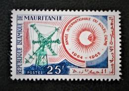 ANNEE INTERNATIONALE DU SOLEIL CALME 1964 - NEUF ** - YT 178 - MI 231 - Mauritania (1960-...)