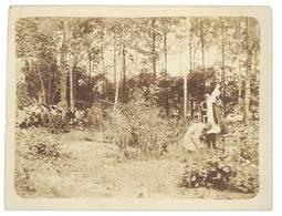 Photo Guerre 1914/1915 - Curé , Messe En Forêt - Guerre, Militaire