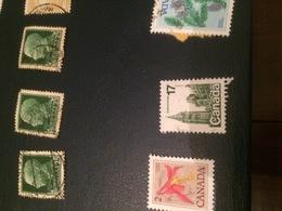 CANADA LA CATTEDRALE - Stamps