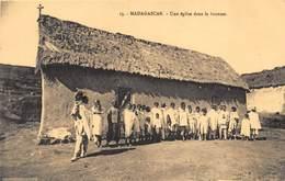 Madagascar - Une église Dans La Brousse - Madagascar