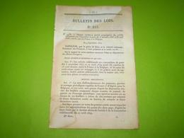 Convention De Poste France Belgique.Organisation Du Service Judiciaire En Guyane,MartiniqueGuadeloupe & Réunion.Ecluses - Décrets & Lois