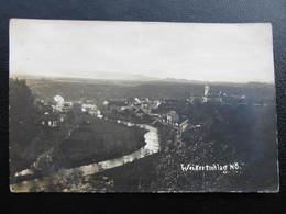 AK RAABS Weikertschlag B. Waidhofen A.d.Thaya 1922 //  D*35534 - Raabs An Der Thaya