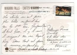 Beau Timbre , Stamp Par Avion à 90 Cents Sur Cp , Carte , Postcard Du 17/10/2007 - Etats-Unis