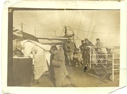 ( BATEAUX )( MILITAIRES  )( EQUIPAGE  ) ( MEMPHIS ) 12 NOVEMBRE 1915 ( GUERRE ) - Boten