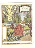 EUGENE GRASSET- LA BELLE JARDINIERE - 1896 - MARS - Peintures & Tableaux