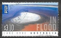 2011 $3.10 Lake Eyre In Flood, Used - 2010-... Elizabeth II