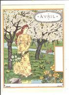 EUGENE GRASSET- LA BELLE JARDINIERE - 1896 - AVRIL - Peintures & Tableaux