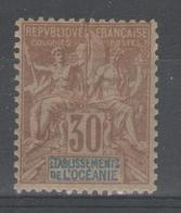 OCEANIE:  N°9 *       - Cote 15€ - - Oceania (1892-1958)