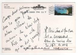 Beau Timbre , Stamp Par Avion à 94 Cents Sur Cp , Carte , Postcard Du 28/04/2009 - Etats-Unis