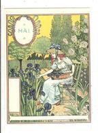 EUGENE GRASSET- LA BELLE JARDINIERE - 1896 - MAI - Peintures & Tableaux