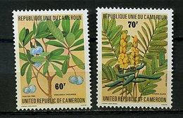 Camerou ** N° 679/680 - Plantes Médicinales - Cameroun (1960-...)