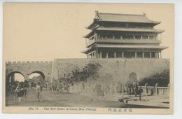 ASIE - CHINE - CHINA - PEKIN - PEKING - TIEN TSIN - The New Street Of CHIEN MEN - Chine
