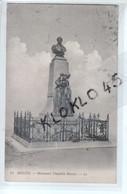 48 MENDE - Monument Théophile Roussel - Vue Seul Du Monument Sur Fond De Nuages  ... - CPA Dos Vert LL 41généalogie - Mende