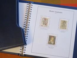 FRANCE - Musée Imaginaire 1961-2000 Dans Album Yvert - Complet ** - Timbres