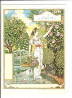 EUGENE GRASSET- LA BELLE JARDINIERE - 1896 - JUIN - Peintures & Tableaux