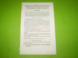 Instruction Morale & Religieuse Des Esclaves En Guyane,MartiniqueGuadeloupe & Réunion.Cies De Ss Officiers Vétérans.... - Décrets & Lois