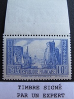 R1718/59 - 1929 - PORT DE LA ROCHELLE - N°261 (I) NEUF** Signé Par Un Expert Au Crayon De Papier - Cote : 180,00 € - France
