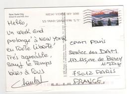 Beau Timbre , Stamp Par Avion à 98 Cents Sur Cp , Carte , Postcard Du 15/03/200? - Etats-Unis
