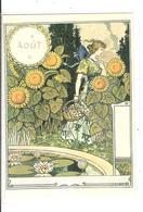 EUGENE GRASSET- LA BELLE JARDINIERE - 1896 - AOUT - Peintures & Tableaux