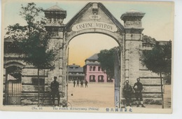 ASIE - CHINE - CHINA - PEKIN - PEKING - TIEN TSIN - The French Military Camp - CASERNE VOYRON - Chine