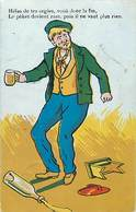Themes Div-ref Z156- Illustrateurs - Illustrateur - Humour -humoristique - Alcool - - Humour