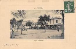 Bouira - Place Gambetta - Carte Pour La Vendée 1912 - Other Cities